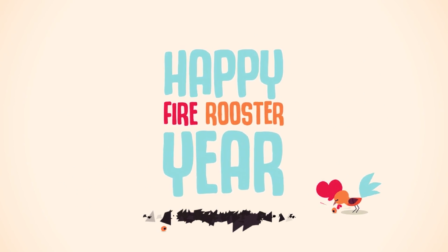 Fire Rooster Year