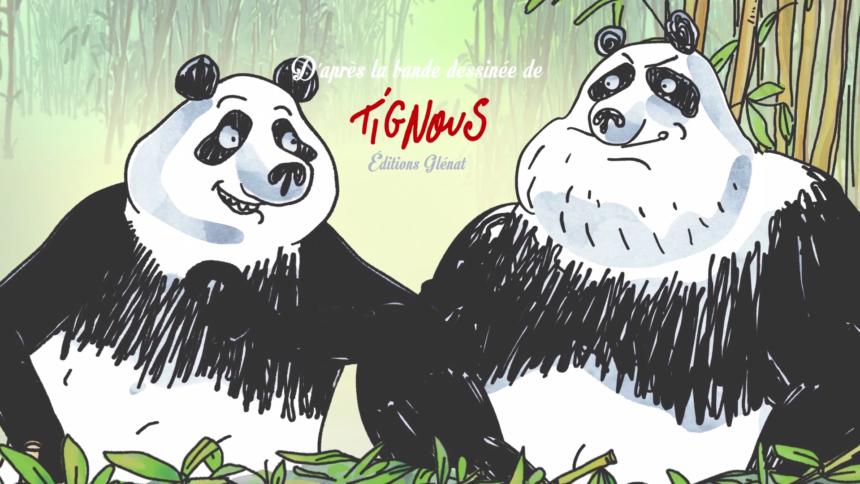 Pandas Dans La Brume - Still de la saison - série animée par squarefish studio