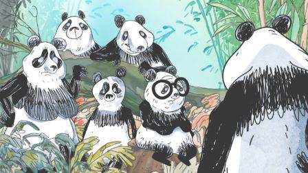Pandas Dans La Brume - Sé&rie animé dans les studios de Squarefish - Still de la saison 2