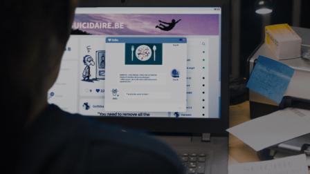 La Meilleure Manière... - Un court métrage de fiction d'Ingrid Heiderscheid - Clean image et incrustation VFX réalisée chez Squarefish