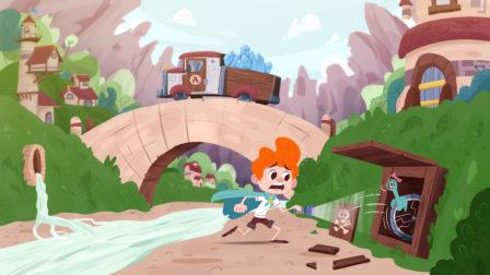 Léa & Jéré - Le village | Série | Squarefish Animation Studio
